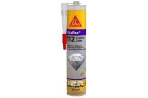 Sikaflex-112 Crystal Clear Transparente - Cartucho de 300 ml
